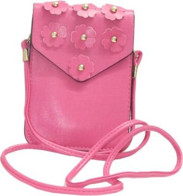 Laviva Girls Pink Flex Sling Bag
