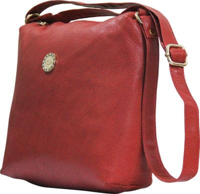 Moladz Girls, Women Red PU Sling Bag