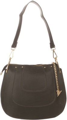 Vero Couture Women Black PU Sling Bag