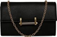 ToniQ Girls Black PU Sling Bag
