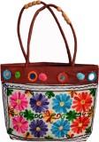 Vedic Deals Women Multicolor Canvas Shou...
