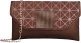 Fristo Women Brown PU Sling Bag