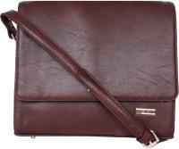 Bern Women Brown PU Sling Bag