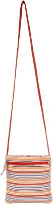 Anekaant Girls, Women Casual Orange, Multicolor Cotton Sling Bag