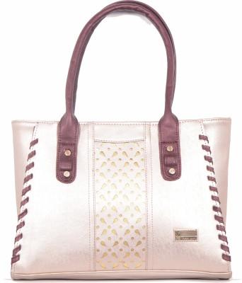 SK-Effects7 Women Pink Leatherette Sling Bag