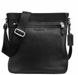 Coach Women Black Genuine Leather Sling ...