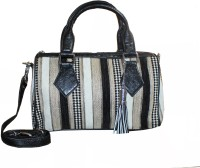 Aazi Women Black Jute Sling Bag
