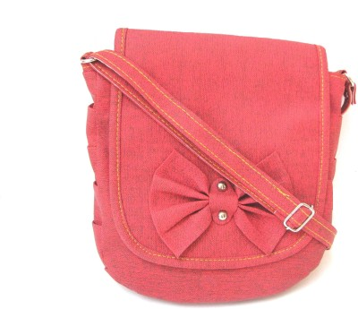 ShoppingTemptation Women Red PU Sling Bag