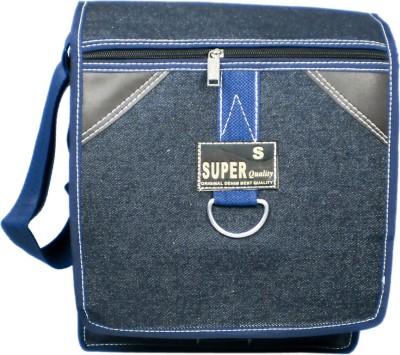 Smariddhimart Girls Blue Denim Sling Bag