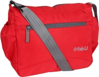 Fab U Boys & Girls Red Polyester Sling Bag