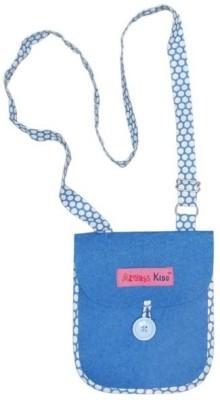 Always Kids Girls Casual, Evening/Party Blue Felt Sling Bag