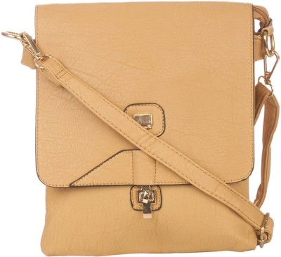 Vero Couture Women Brown PU Sling Bag