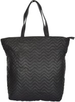 UR CLASS Women Black Genuine Leather Hand-held Bag