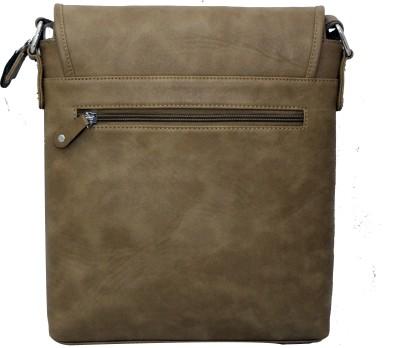 Nappastore Men, Women, Boys, Girls Casual, Formal Tan Leatherette Sling Bag