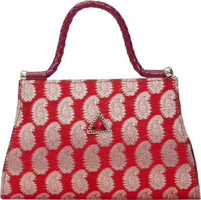VERMELLO Girls, Women Casual, Evening/Party Maroon Rexine Sling Bag