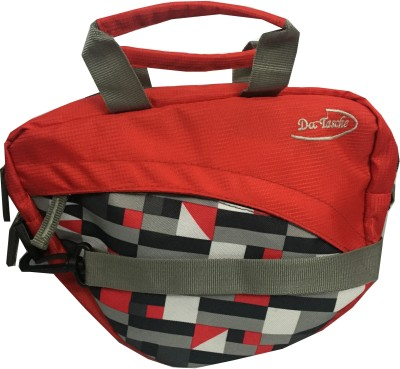 Da Tasche Boys, Girls Red Polyester Sling Bag