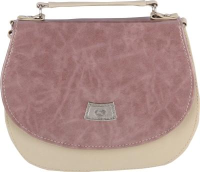 Felicita Girls, Women Casual, Evening/Party Beige PU Sling Bag