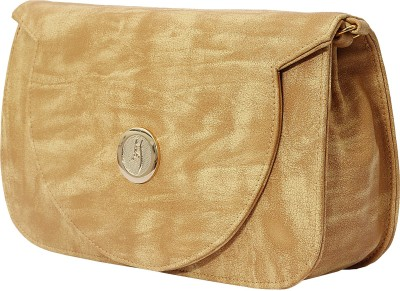 PST Girls, Women Beige PU Sling Bag