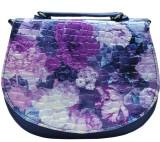 Utsukushii Women Blue PU Sling Bag