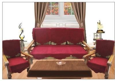 Unique Collections Polycotton Sofa Cover
