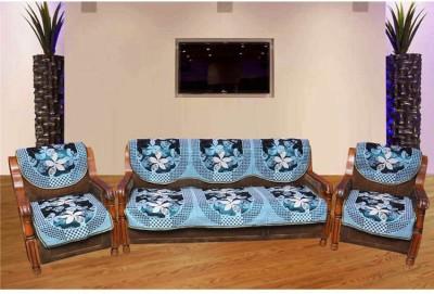 Zesture Jacquard Sofa Cover at flipkart