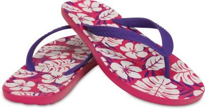 Crocs Chawaii Tropical Print Flip Flip Flops