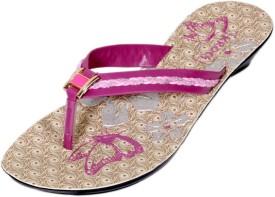 Krocs Girls Slipper Flip Flop(Pink)