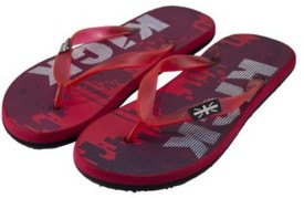 TOTEGLORY Boys Slipper Flip Flop(Red)