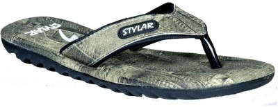 Stylar Black And White Max Flip Flops