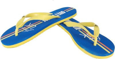 Primo Royal Blue/Yellow Flip Flops