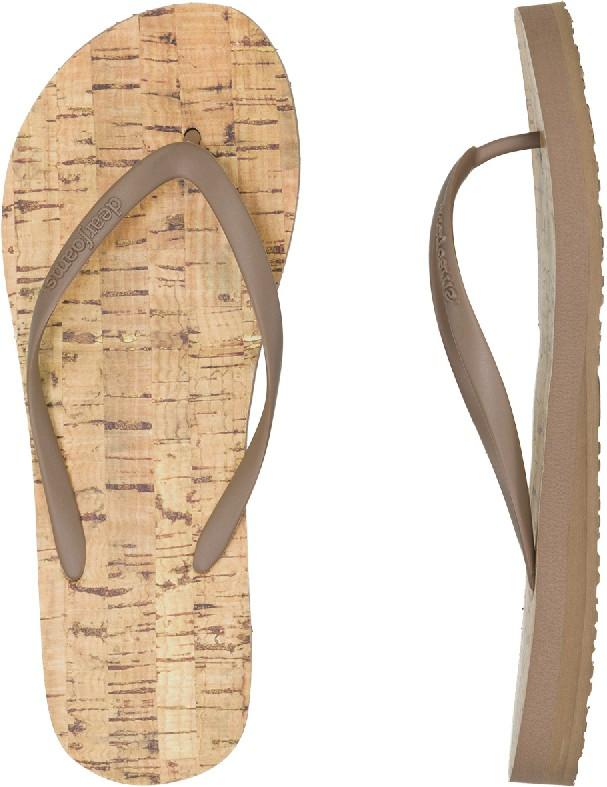 64fcd9b59c7059 Dearfoams Flip Flops - Footwear