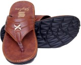 Stylos Men Tan Sandals