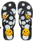 Amatra Girls Slipper Flip Flop (Black)