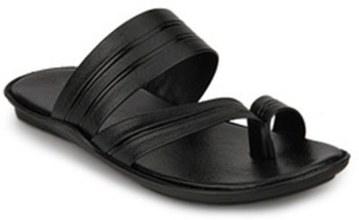 Wave Walk 2358-BLACK Slippers