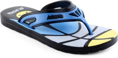 Alaska Hd 3 Black Blue Flip Flops