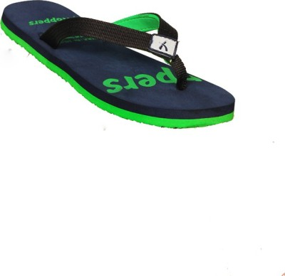 Hoppers Rodeo Blue and Green Slippers