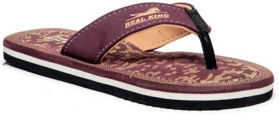 Foot Clone Real King Red Red Flip Flops