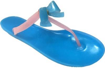 Beirut Girls Slipper Flip Flop(Blue)