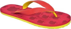 Zoofer Boys Slipper Flip Flop(Red)