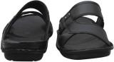 K2 Leather Men Black Sandals