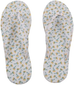 HVE Girls Slipper Flip Flop(White)