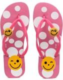Amatra Girls Slipper Flip Flop (Pink)