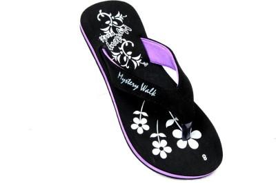 Mystery Walk Candy Purple Slippers