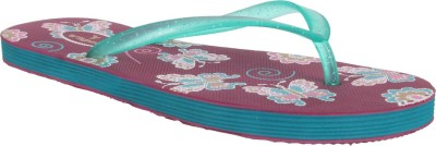 Viger Girls Slipper Flip Flop(Purple)
