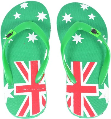 Style Foot Green Slippers