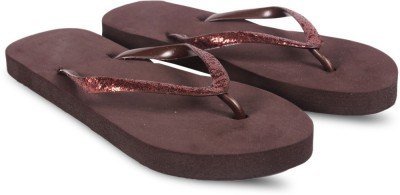 Anand Archies Girls Slipper Flip Flop(Brown)