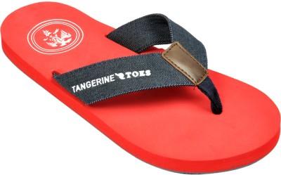 Tangerine Toes Sea Mark Flip Flops