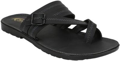 KZAARA Men Black Sandals