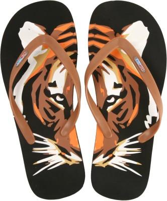 Flipside The Tiger Black Flip Flops