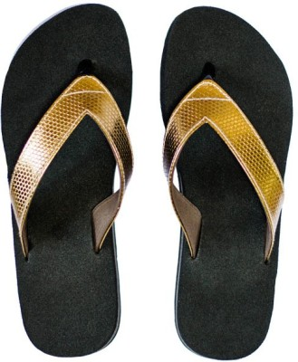 Dr. Cobbler Girls Slipper Flip Flop(Gold)